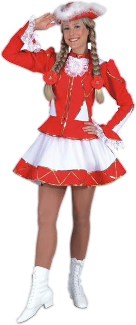 Orlob - Disfraz Majorette Rojo para Mujer: Orlob: Amazon.es: Hogar