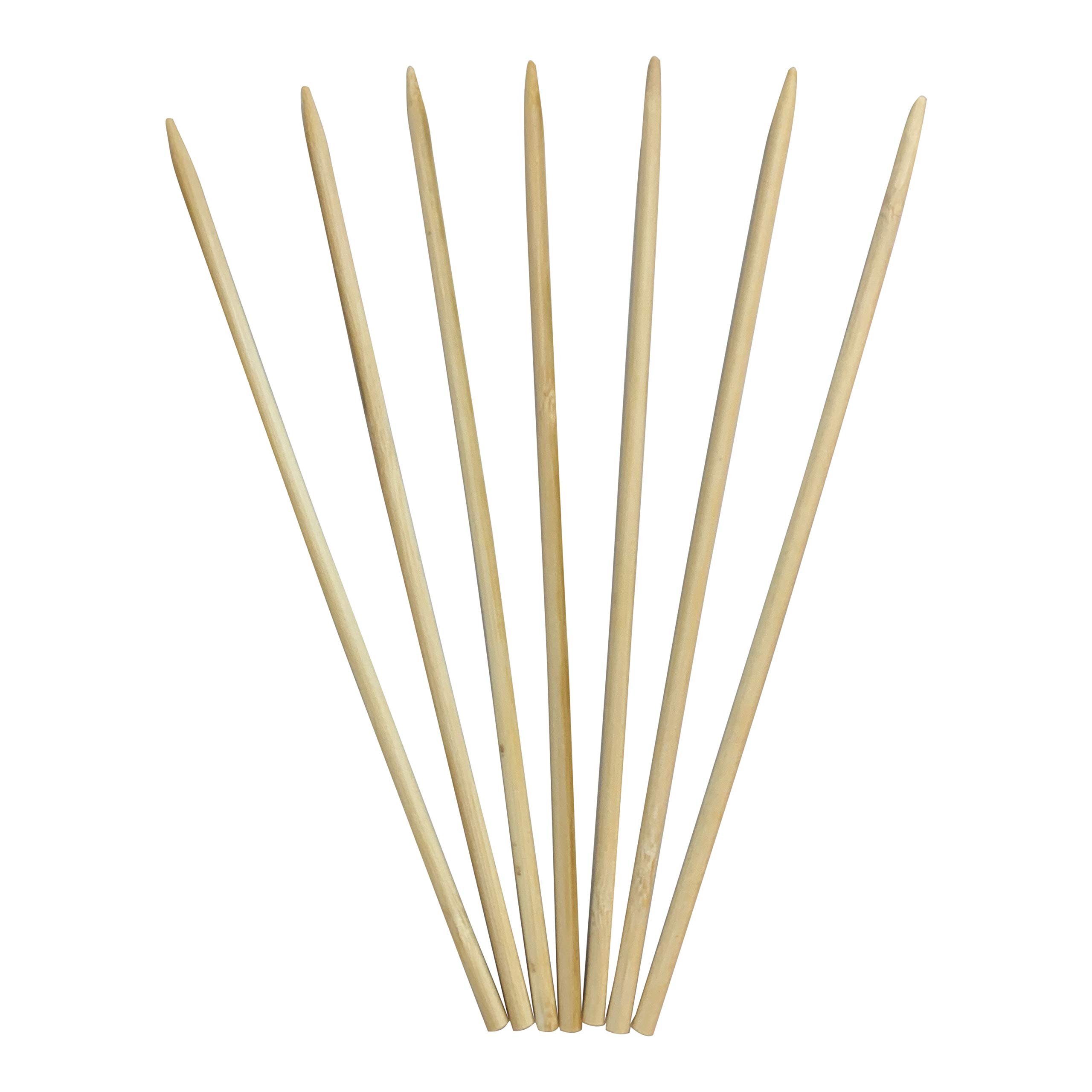 KingSeal Renewable Bamboo Wood Corn Dog Skewers, Sticks, 8.75 Inches, 5 mm Diameter - 8 Boxes of 1000 Pieces per Box by KingSeal