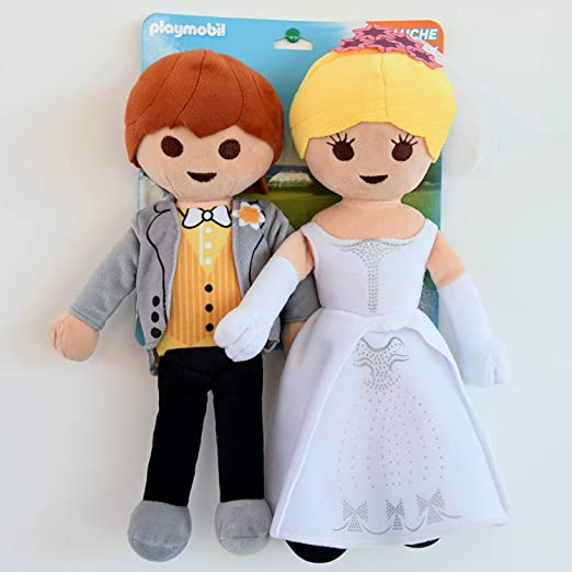 PLAYMOBIL - Peluches Exclusivos Novios - 30 Cm: Amazon.es: Juguetes y juegos