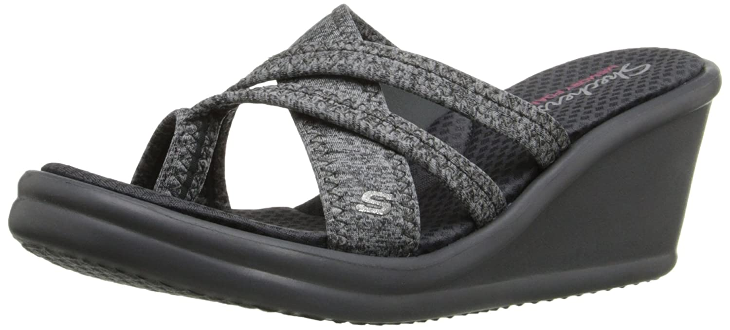 b787361be8ed Skechers Cali Women s Rumblers Pen Pal Wedge Flip Flop