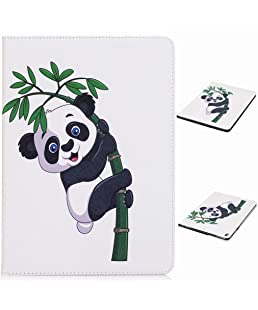 Yiizy Cover for Samsung Galaxy Tab A 7.0 (2016) / T280 Case, Panda Style Premium Leather Slim Fit Standing Protective Cover ID & Credit Card Slots Pockets Magnetic Strap Wallet Pouch Flip Cover Case