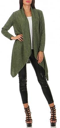 fantastische Einsparungen 100% Qualität hohes Ansehen Damen Leichter Mantel (586), Farbe:Oliv: Amazon.de: Bekleidung