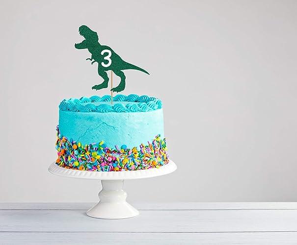 Amazon Three Rex Cake Topper