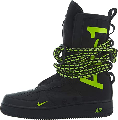 Nike SCARPA ALTA SF AIR FORCE 1 HI BLACKVOLTBLACK 44