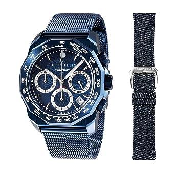 Perry Ellis 09005-04#LS101 - Reloj analógico de Cuarzo para ...