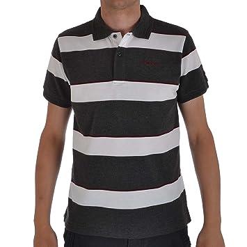 Head para hombre diseño de rayas Polo de manga corta camiseta Top ...