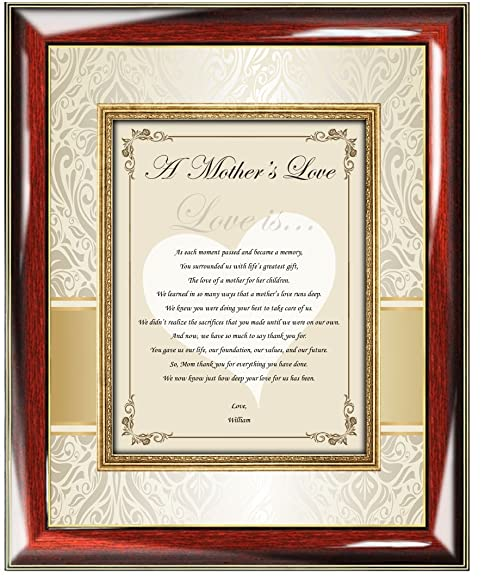 Amazon.com - Personalized Gifts for Mom Love Birthday Christmas ...