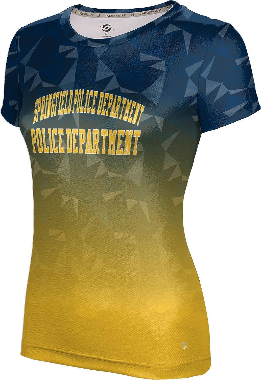 ProSphere Women's Springfield Police Department Gov-Fire-Police Maya Tech Tee