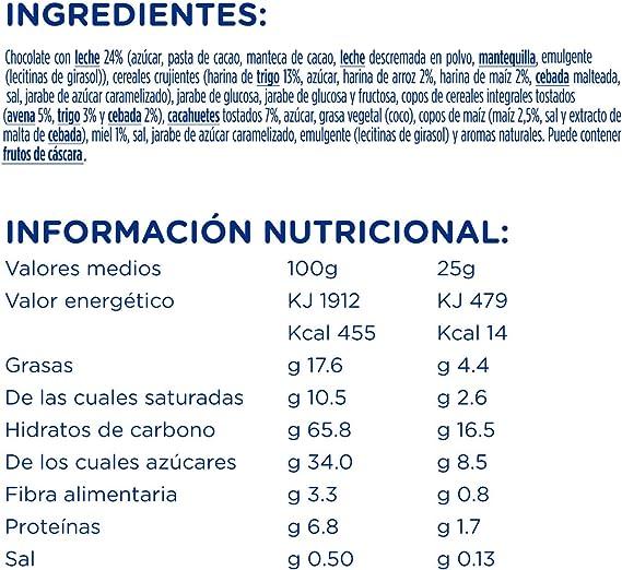 Hero Muesly Energia Barritas de Chocolate, 6 x 25g