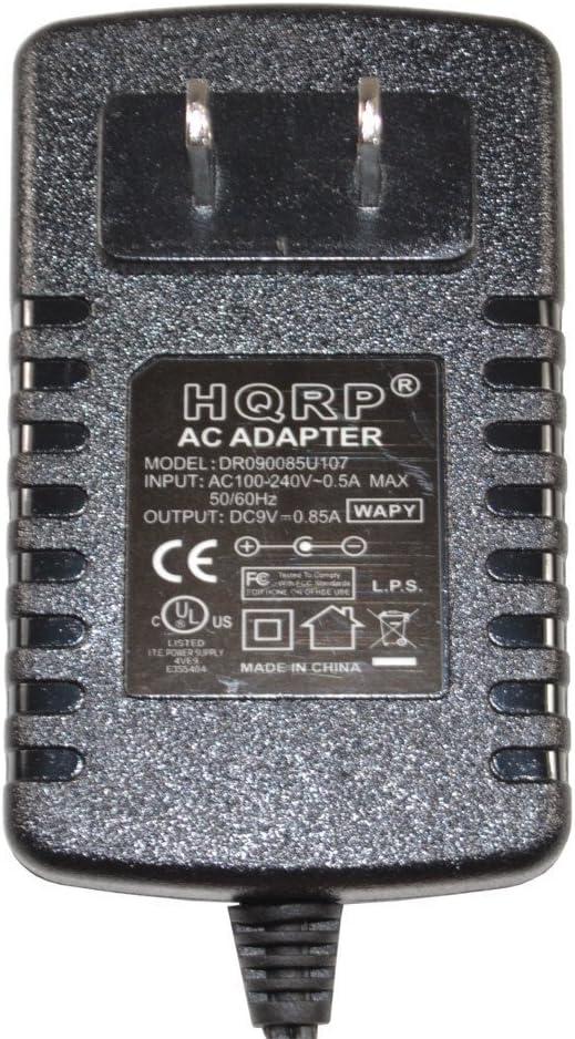 HQRP Adaptateur pour Casio MA101 MA201 MG500 MG510 MT400V SK100 SK200 TB1 VA10 CT670 CT680 CT700 Clavier