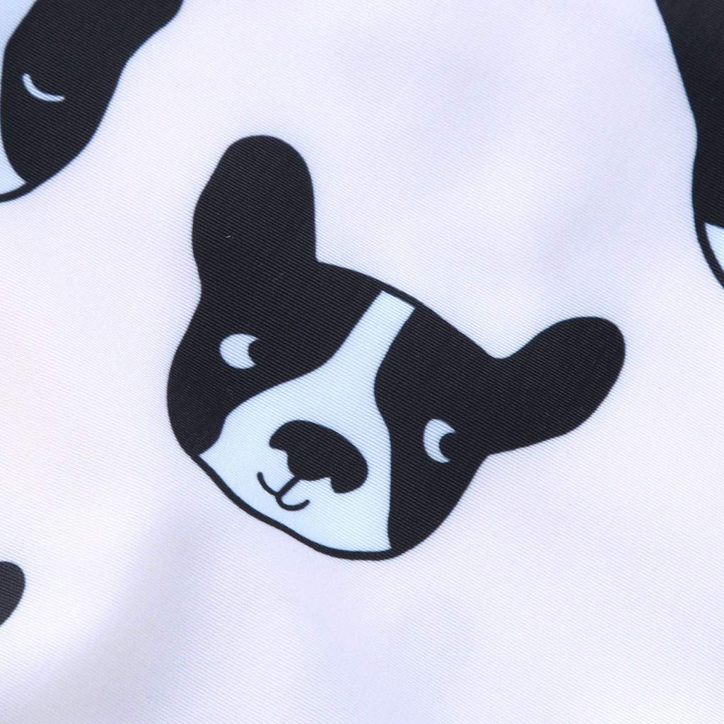 Cuekondy 1-6 Years Old Toddler Baby Girls Kids Cute Dog Printed One Piece Swimsuit Swimwear Hat Beach Bathing Suit Set