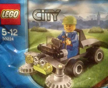 Amazon.com: LEGO City 30224 Ride On Lawn Mower: Toys & Games