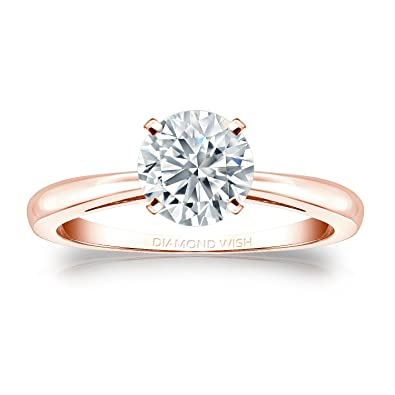 Diamond Fine Rings 2.92 Carat Round Cut Halo Diamond Engagement Ring Vs2/f White Gold 18k