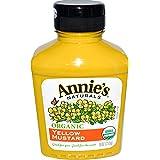 Annie's Naturals, Organic Yellow Mustard, 9 oz (255 g) Annie's Naturals, Organic Yellow Mustard, 9 oz (255 g) - 2pcs