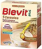 Blevit Plus Superfibra 5 Cereales - Paquete de 2 x 300 gr - Total: 600 gr