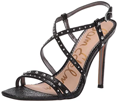 de788517e Amazon.com  Sam Edelman Women s Lennox Heeled Sandal  Shoes