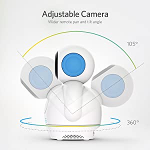 360 °Baby Kamera Babyphone