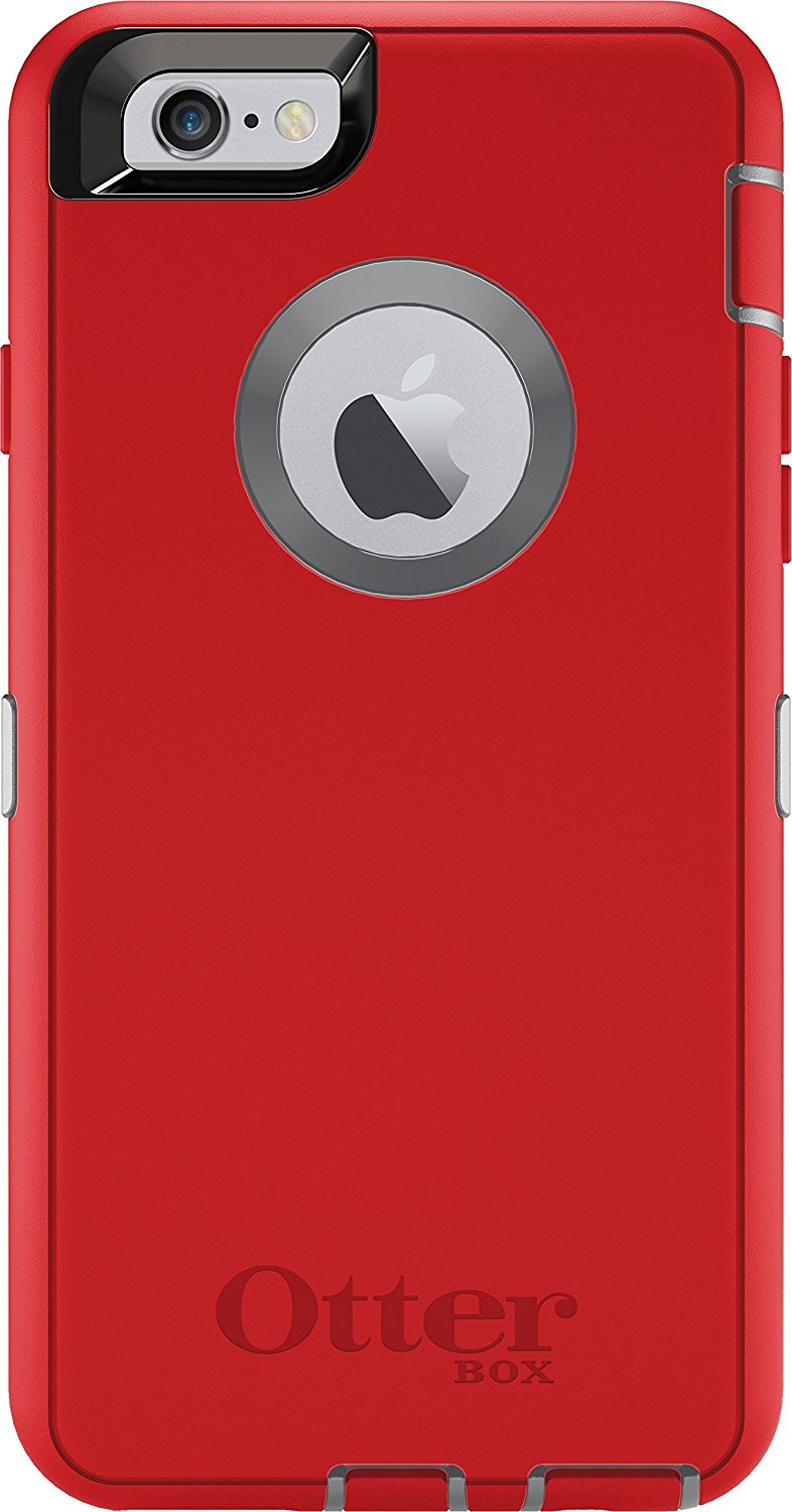 Otterbox Defender Case Rugged Protection For Apple I Phone 6/ I Phone 6 S   Fire Within (Red) by Otter Box