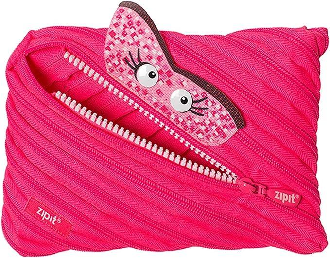 Zipit ztmj AR Sky estuche de un único Cremallera larga, lavable, color rosa: Amazon.es: Oficina y papelería