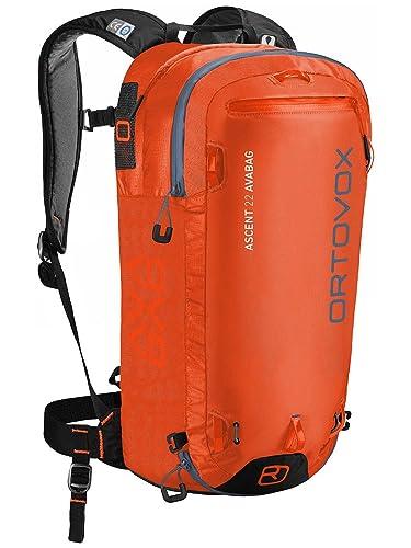 ORTOVOX Ascent 28 S Avabag Kit, Sacs à dos mixte adulte, (Aqua), 24x36x45 cm (W x H L)