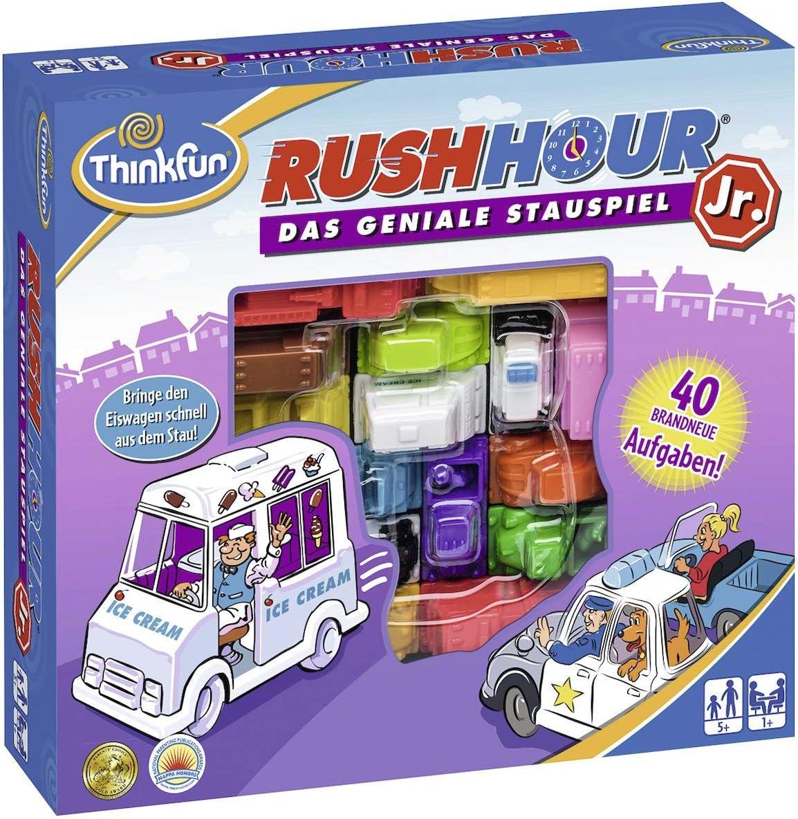ThinkFun- Nein Rush Hour Junior-Juego Infantil, Color Blanco (Ravensburger Spieleverlag 76303): Yoshigahara, Nob: Amazon.es: Juguetes y juegos