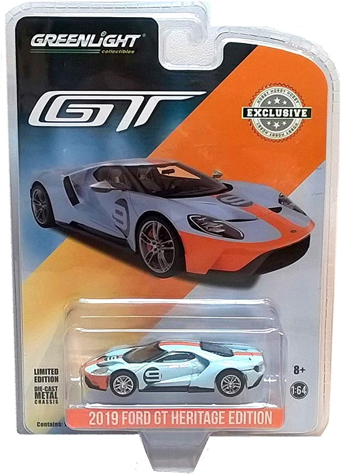 Greenlight~2018~MICHELIN~2017 Ford GT~Hobby Exclusive