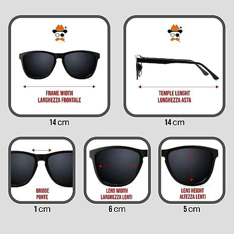 Sonnenbrille KISS®-mod. JUNO STRIPE Mode-Damen-Jahrgang Promi-kühl - HAVANNA itSAiM