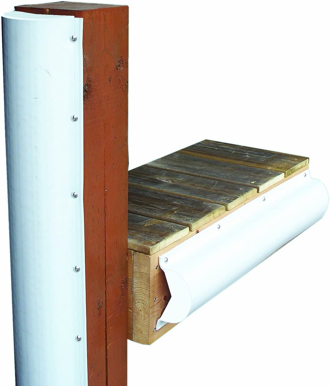 B000EY16JG Dock Edge + Inc. Premium PVC Dock Bumper Corner Edge Profile 71OwNjFETDL