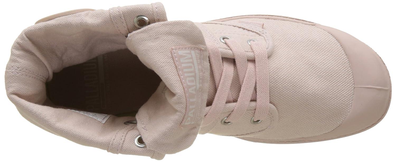 Palladium Damen Pallabrousse Pink Baggy Hohe Sneaker, Grau Pink Pallabrousse (Peach Whip K74) 7930c8