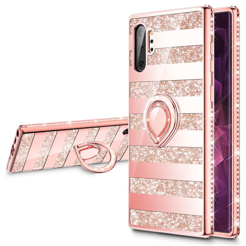 Funda Samsung Note 10 Plus Glitter Con Pie