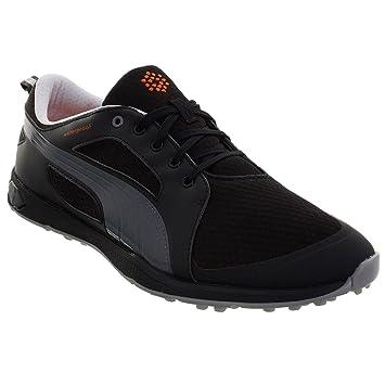 Puma Golf 2015 Mens Biofly Mesh Golf Shoes - Black Puma Silver - UK ... be0693b95d93