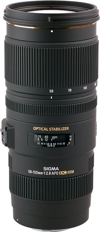Sigma Telephoto Zoom Objektiv 50 150mm F 2 8 Apo Ex Dc Os Hsm 77mm Filterdurchmesser