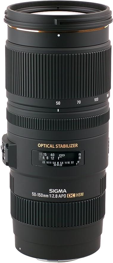 Sigma 50-150 - Objetivo para cámara réflex y EVIL, 50-150mm /f2.8 ...
