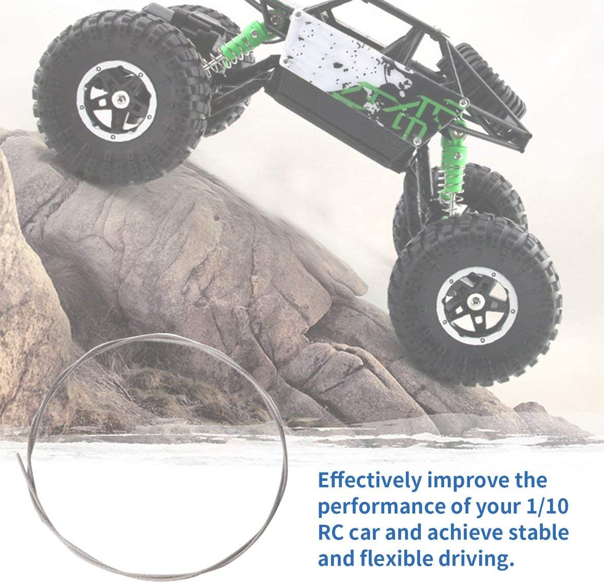 Set of RC Car Shell Buckle Spring and Accessories for RC Crawler Car Parts