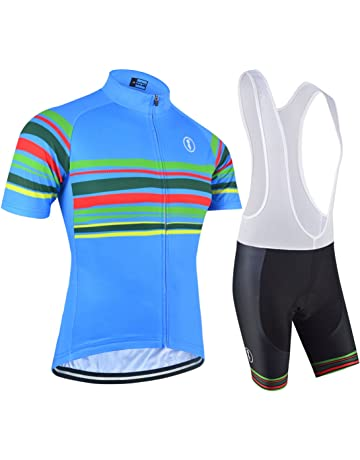 4a31f35e21048 BXIO Cycling Jerseys - Breathable Short Sleeve Bike Jersey with 3D Gel Pad  Bib Shorts for