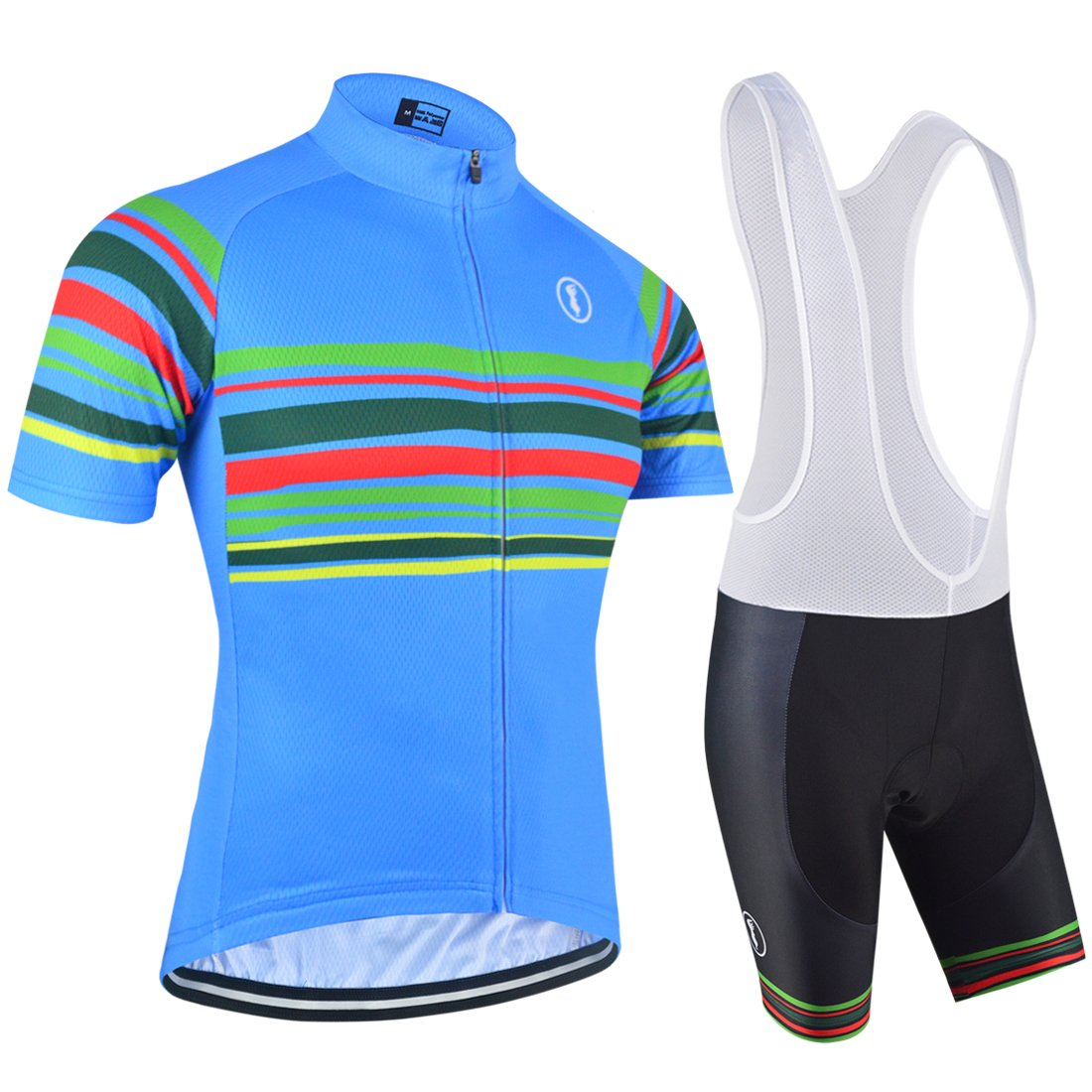 3ed92169d BXIO Cycling Jerseys - Breathable Short Sleeve Bike Jersey with 3D Gel Pad  Bib Shorts for Pro Bicycle Team Clothing  Amazon.co.uk  Sports   Outdoors