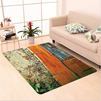 Amazon Com Nalahome Custom Carpet R Old Fashion Country House