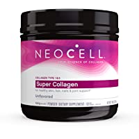 NeoCell Super Collagen Powder, 14 Ounces, Non-GMO, Grass Fed, Paleo Friendly, Gluten...