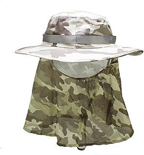 Rnow, cappello da pesca da esterno, grande, impermeabile, a tesa larga, per pesca