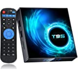 Android TV Box 10.0, EASYTONE Android 10.0 TV Boxes with 4GB RAM 32GB ROM, Allwinner H616 Quad-core Chip Support 2.4G/5G Dual