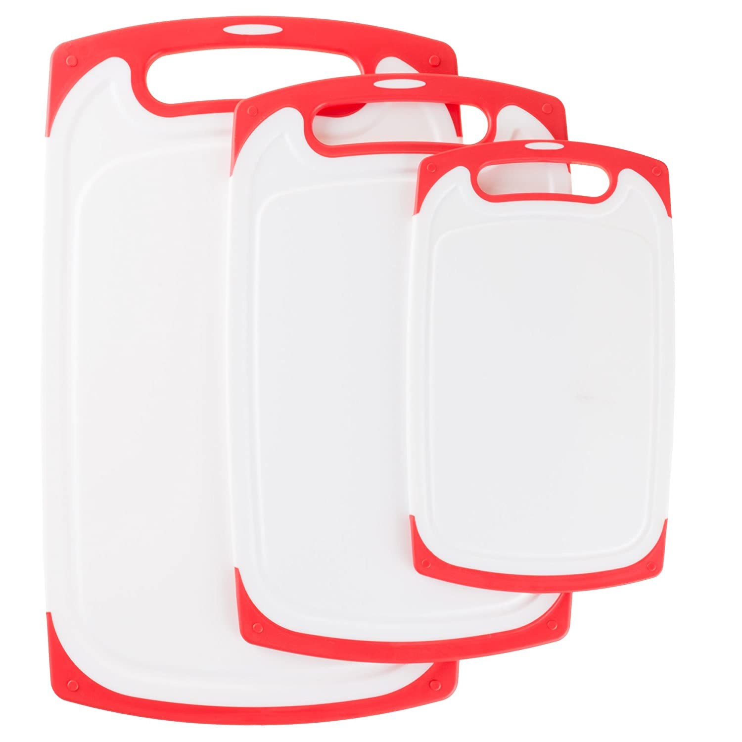Normal Red Classic Cuisine 82-KIT1020 Cutting Board Set