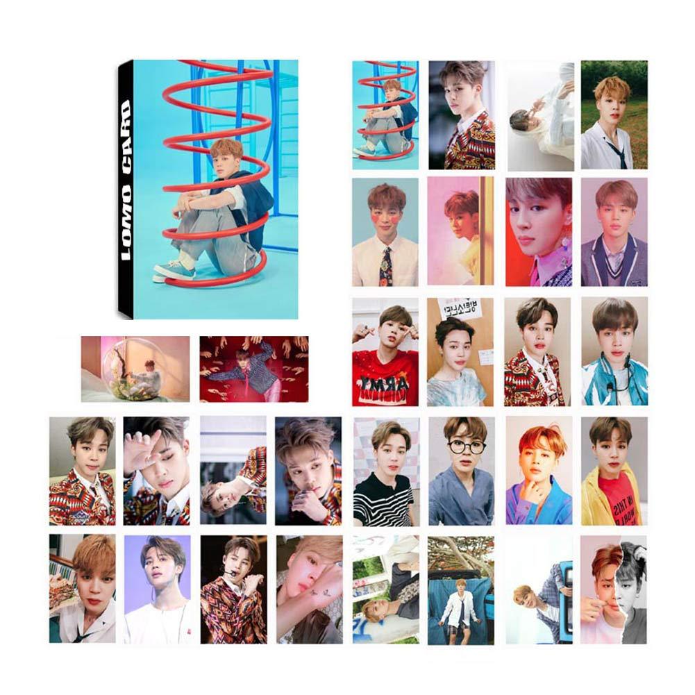 per confezione gfdytedtydi album fotografici 1 unit Set di 30 cartoline con foto Polaroid dei BTS Bangtan Boys