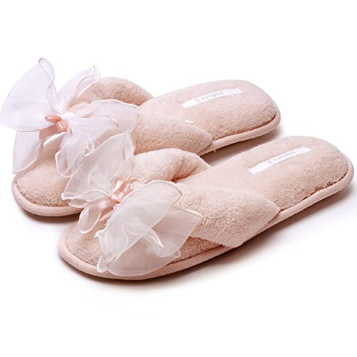 4c2ba0ce3f6c5f Caramella Bubble Women Cozy Soft Plush Terry Spa Thong Flip flop Slippers