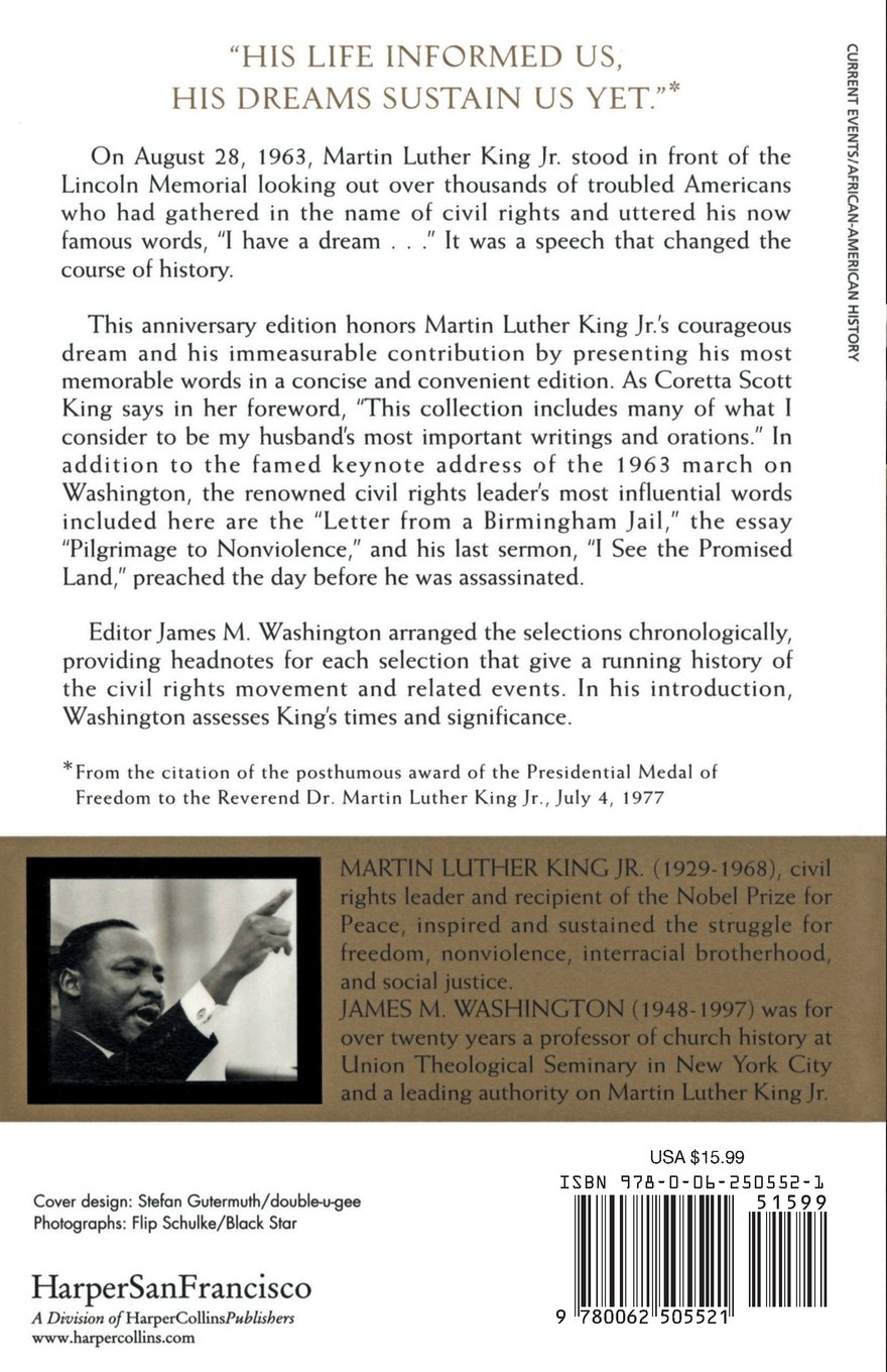 i have a dream writings and speeches that changed the world  i have a dream writings and speeches that changed the world special 75th anniversary edition martin luther king jr born 15 1929 dr martin