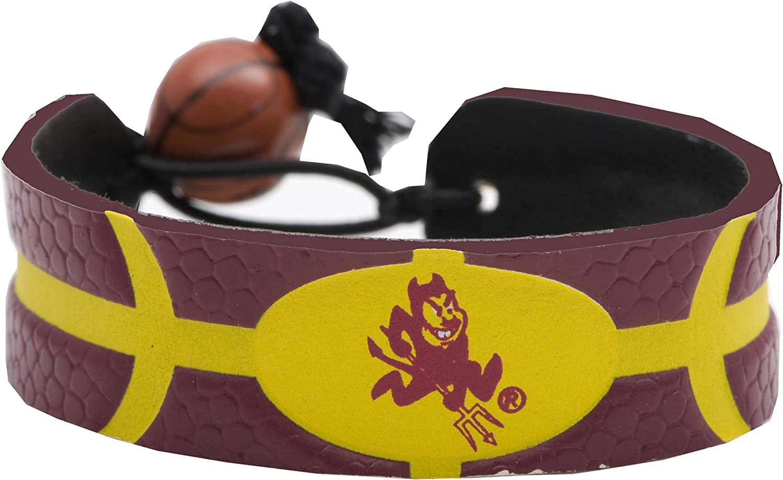 NCAA Arizona State Sun Devils Team Color Basketball Bracelet