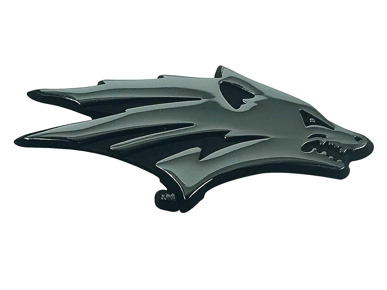 new logo Wolf Pack METAL Auto Emblem University of Nevada Reno