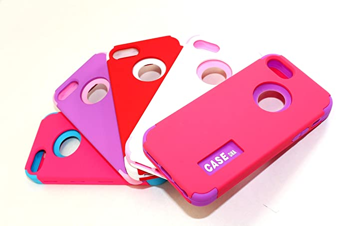 Amazon.com: CASEDna - Fundas para iPhone 6S Plus / 6 Plus, 3 ...