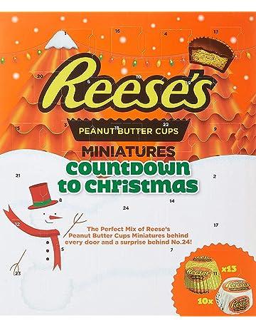 Calendario de Adviento Americano de Reese Mantequilla de Maní con Tazas 250g