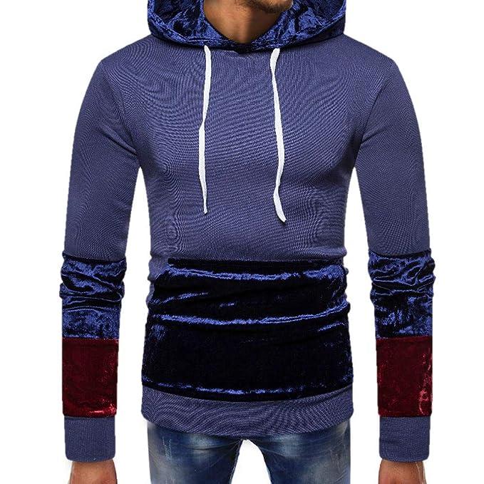 f98b7ef50bd79 Naturazy Sweater SuéTer Deportivo,Sudadera con Capucha De Manga Larga para  Hombre con Bolsillo En