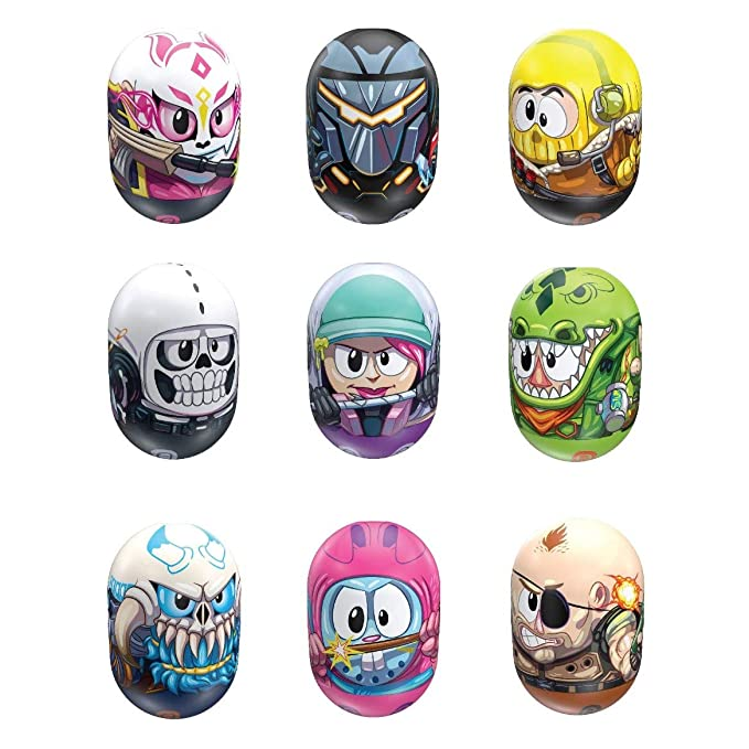 Amazoncom Mighty Beanz Fortnite 4 Pack Styles May Vary Toy